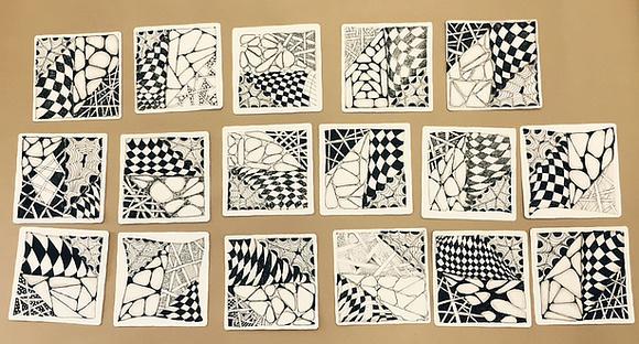 Zentangle Basics Tiles
