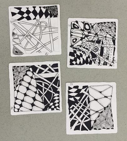 Kids Zentangle Tiles