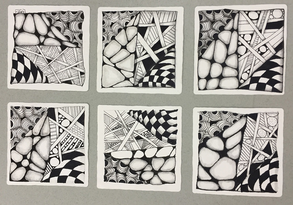 Zentangle Class Tile