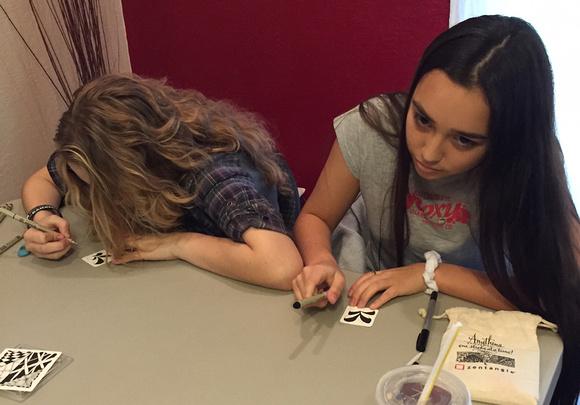 Zentangle Students