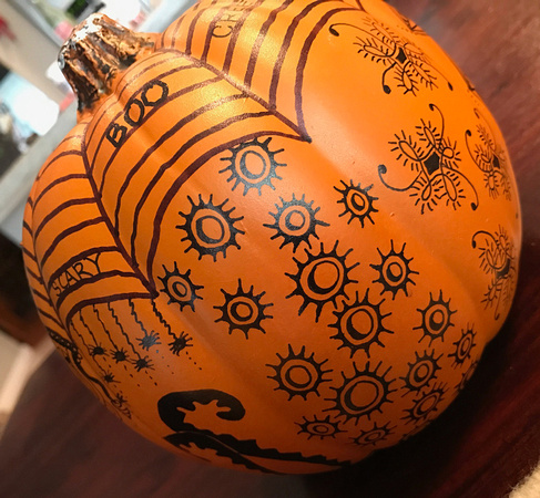 Zentangle Craft Pumpkin