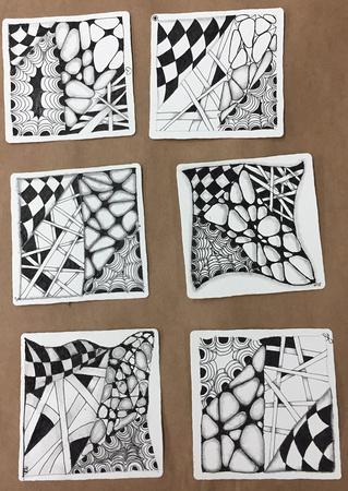 Zentangle 101 Tiles
